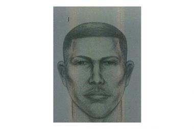 Sketch and vehicle of suspect in child luring incidents in Queens.