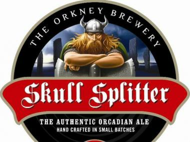 The party celebrates the launch of Skull Splitter beer on taps around the city.
