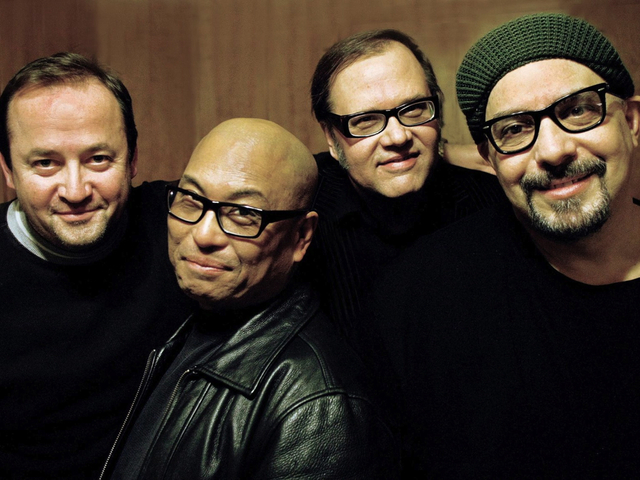 <p>Jersey-based power-poppers The Smithereens formed in 1980 and enjoyed a string of acclaimed mid-80&#39;s albums notably 1986&#39;s &quot;Especially For You&quot;, and 1988&#39;s &quot;Green Thoughts&quot;. At B.B.King&#39;s Blues Club &amp; Grill, Saturday night.</p>