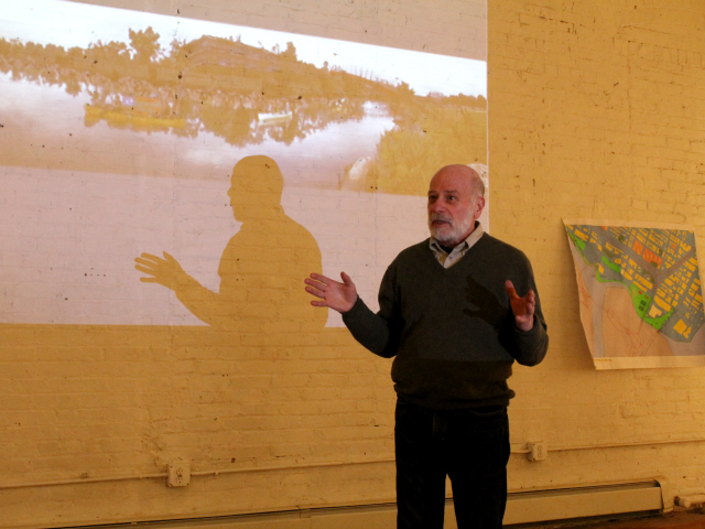 <p>Urban planning professor Tom Angotti details his vision for a green use of the remaining Harlem River Yards space.</p>