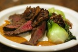 RECIPE: Soy and Sherry Grilled Steak and Bok Choy Heat Up Winter