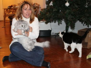 Susan LaMarca has been helping cats in Kew Gardens for 12 years.