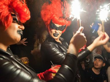 Susanne Bartsch and Kenny Kenny host parties on Sunday at the Greenhouse in Lower Manhattan