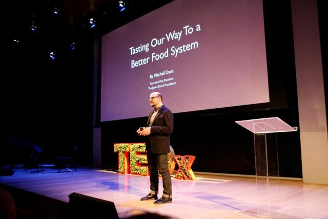 <p>A speaker at TEDxManhattan 2012, &quot;Changing the Way We Eat.&quot;</p>
