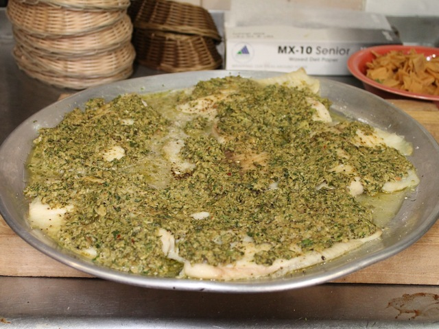 <p>Tilapia, one of the Wafa&#39;s specials.</p>