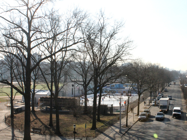 <p>The new rink is located in a corner of Van Cortlandt Park near the last stop of the No. 1 subway line.</p>