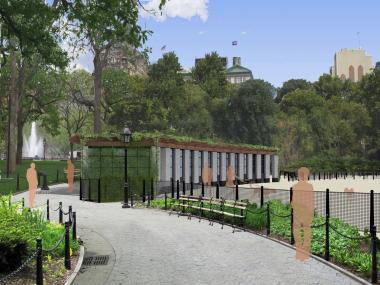The city Parks Department said in early January 2013 that work on Washington Square Park is set to be complete in summer 2013.