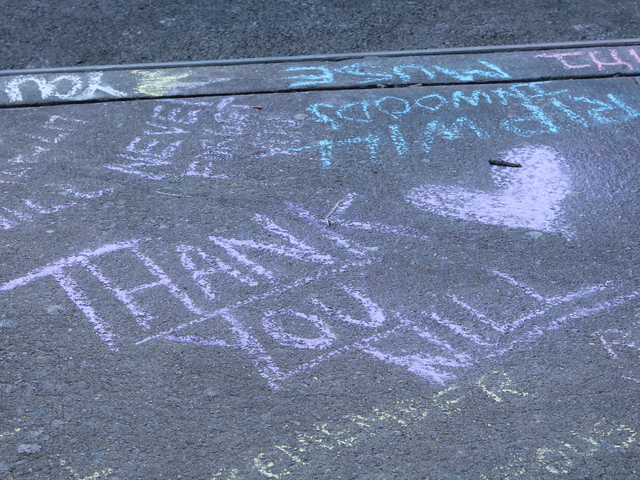 <p>Residents have left several messages of gratitude and grief over Alicea&#39;s passing.</p>