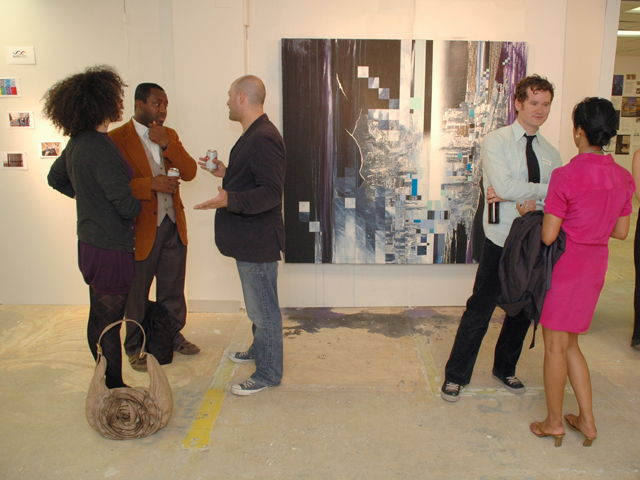 <p>Jonathan Allen presents his studio during Open Studio Weekend 2010</p>