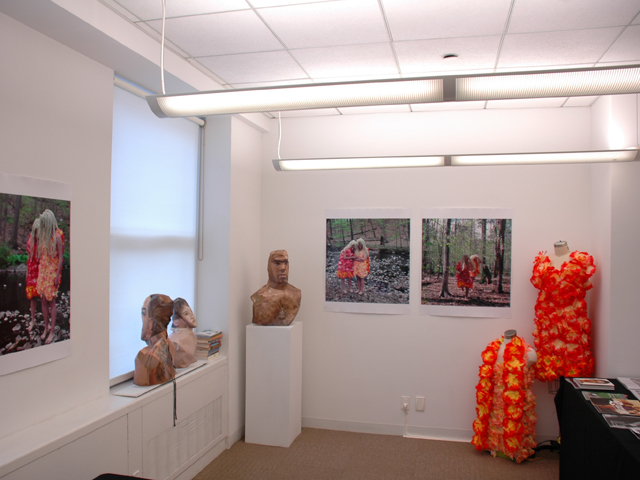 <p>Artist Elia Alba&#39;s studio during Open Studio Weekend 2010</p>