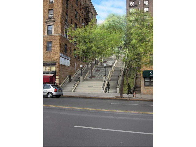 <p>The City Department of Design and Construction said that reconstruction of the steps will begin in fall 2013.</p>