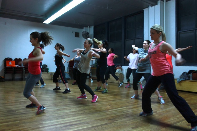 <p>As Pit Bull&rsquo;s song &ldquo;Krazy&rdquo; starts blaring from the big speaker, Kurzban begins leading participants through a high-energy workout inspired by dance moves you&rsquo;d see at any club scene.</p>