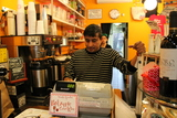 Jackson Heights Coffee Shops Stay Open as Blizzard Brews