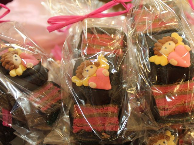 <p>Marzipan truffle pieces at Aigner Chocolates in Forest Hills.</p>