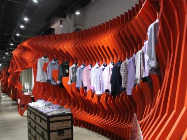 The clothing shop's CEO says he's as focused on art as he is on high-end men's shirts.