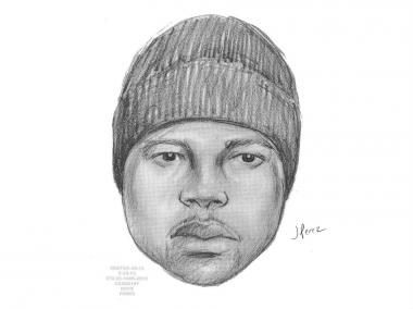 Police are looking for a man who allegedly raped a Bedford-Stuyvesant woman outside of her home on the morning of Feb. 24.