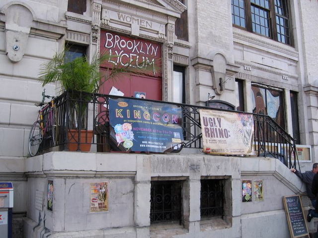 <p>The owner of the Brooklyn Lyceum is warning that the arts venue could become a Duane Reade or condos if it&#39;s sold at a foreclosure auction.</p>