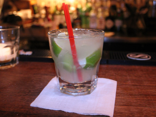 <p>Caipirinha, one of Brazil&#39;s most popular drinks, is on the menu at Beco Bar in Williamsburg.</p>