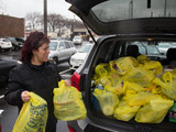 Staten Islanders Stock Up Before Snowstorm with Sandy Scars Still Fresh