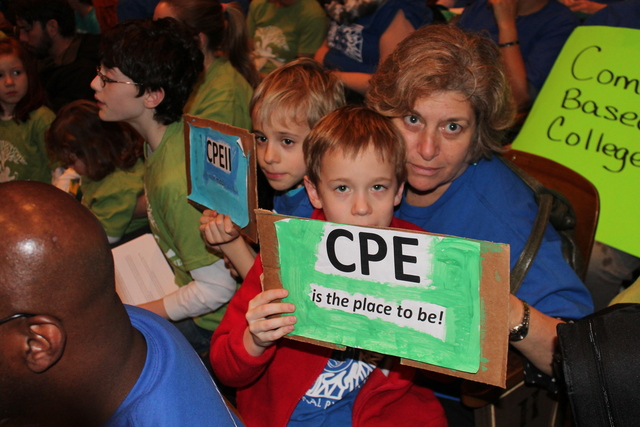 <p>Parents and educators from Central Park East I and II are upset because the DOE promised to find the progressive schools space to launch a middle school. Central Park East officials say they identified space at the school only to be told by Schools Chancellor Dennis Walcott a few months ago that no space was available in District 4 for a middle school.</p>