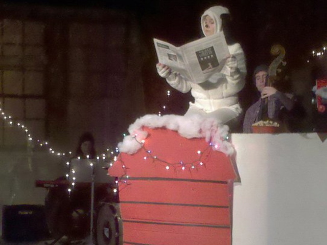 <p>A stage production of &quot;A Charlie Brown Christmas&quot; at the Brooklyn Lyceum, an arts venue on Fourth Avenue and President Street.</p>
