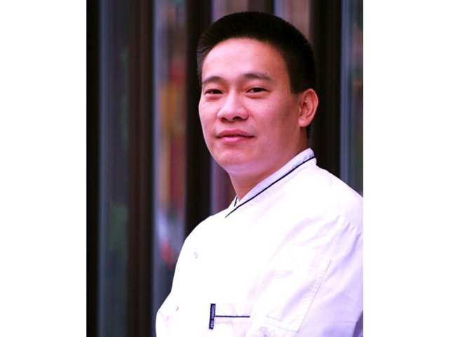 <p>Chris Cheung, former chef at Nobu and Jean-Georges, is executive chef at Cherrywood Kitchen, which is set to open on Spring Street in March 2013.</p>