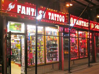 A worker at Crazy Fantasy Tattoo was arrested Feb. 1, 2013 for alleged criminal posession of stolen property, police said Feb. 27, 2013.