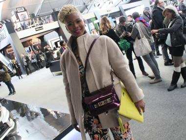 Many at Fashion Week are dealing with an equipment overload when getting around shows so two handbags can be a stylish and practical option.