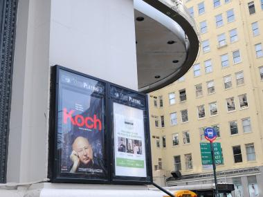 New Yorkers went to see the documentary about former mayor Ed Koch at the Angelika Film Center the day he passed away, Feb. 1, 2013.
