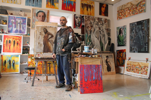 <p>Long Island City artist Eduardo Anievas opens his studio at 10-15 48th Ave. to the public every Saturday afternoon.</p>