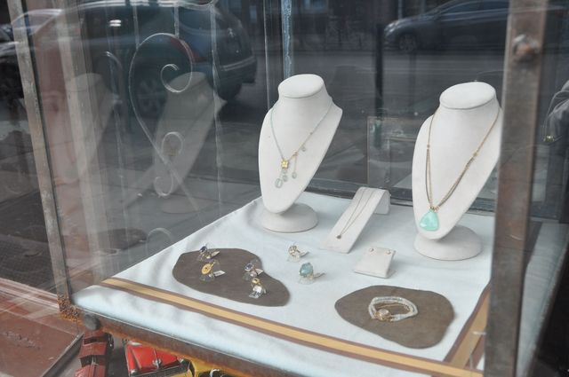 <p>The jewelry store at 168 Court Street sells expensive handcrafted jewelry.</p>