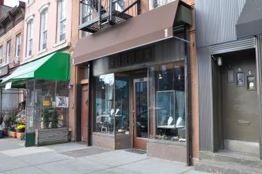 A jewelry store at 168 Court Street.