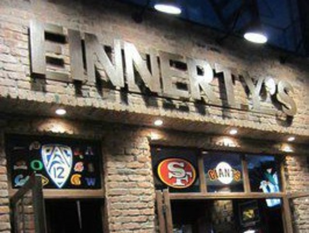 <p>Finnerty&#39;s will be jam packed with San Francisco 49ers fans on Sunday Feb. 3, 2013.</p>