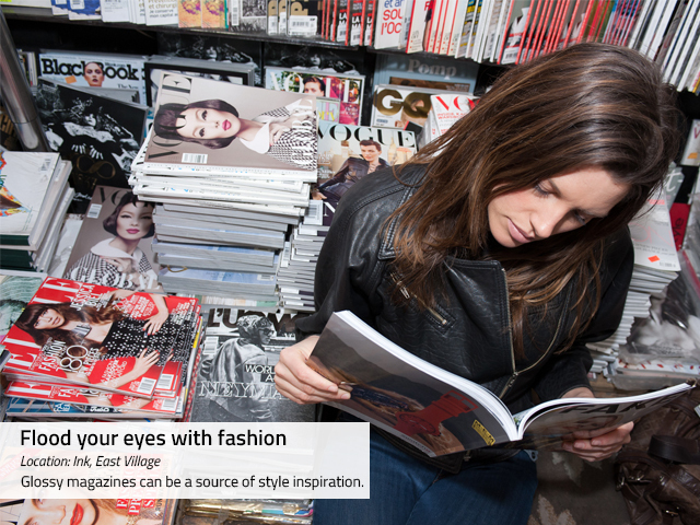 <p>To jump-start creativity, flipping through art and style history books can help with fashion inspiration, according to stylist Alexandra Suzanne Greenwalt.</p>