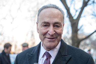 Sen. Charles Schumer says he's hopeful the defense department will work with the city to plan the parade for Iraq and Afghanistan veterans.