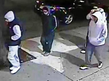 Cops are hunting four men they say robbed a Bronx jewelry store in Norwood on Thursday Jan. 17, 2013.