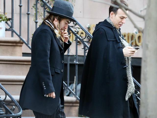 convicted anti semitic fashion designer dresses up as