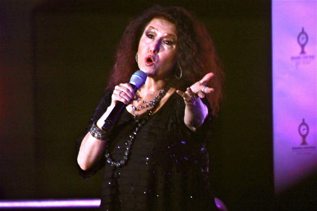 <p>Grammy Award-winning singer Melissa Manchester was invited on stage to perform during the Grand Central Centennial opening ceremony.</p>