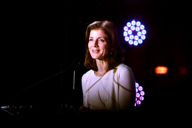 <p>The centennial bash kicked off with a series of speakers, including Cynthia Nixon from &quot;Sex and the City&quot; and author and preservationist Caroline Kennedy.</p>