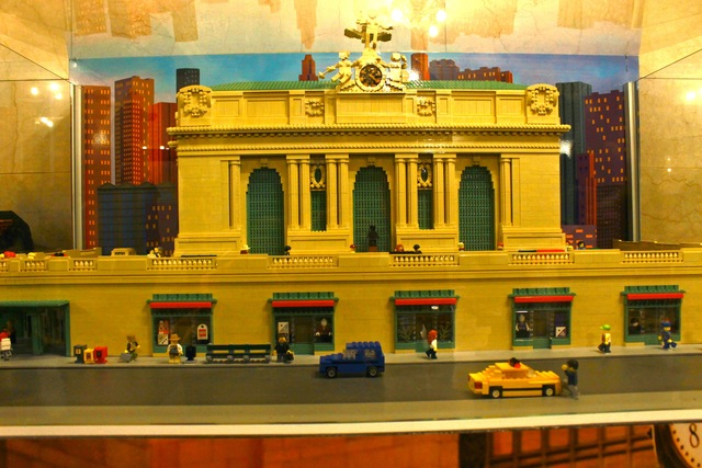 <p>A Lego replica of Grand Central Terminal can be found near the Station Master&#39;s office.</p>