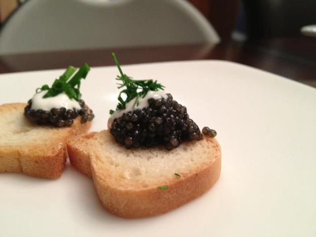 <p>Chef Diane DiMeo believes that diners are moving back to the days of caviar.</p>
