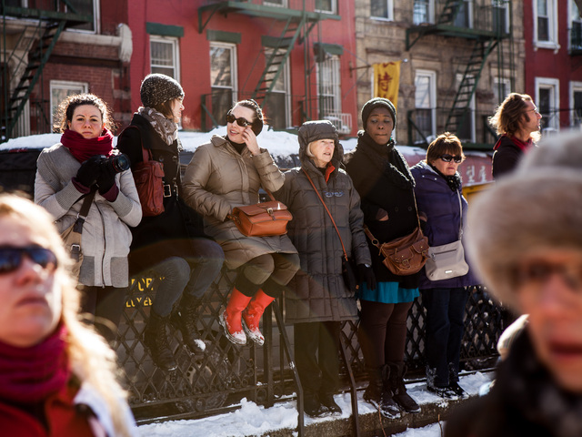 <p>Hundreds of people turned up for the Chinese New Year celebrations in the Sara D. Roosevelt Park on Feb. 10, 2013.</p>