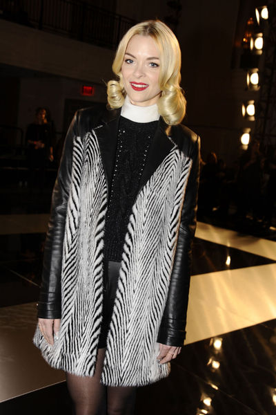 <p>Jamie King at the Jason Wu show on Park Avenue, Friday, Feb. 8, 2013.</p>