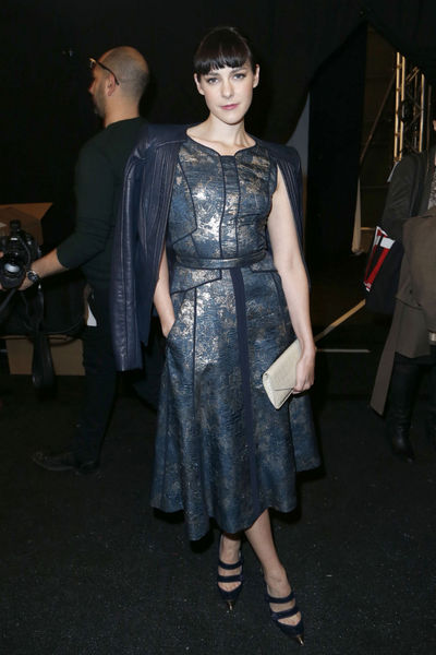<p>Jenna Malone at the J. Mendel show at Lincoln Center, Wednesday, February 13, 2013.</p>