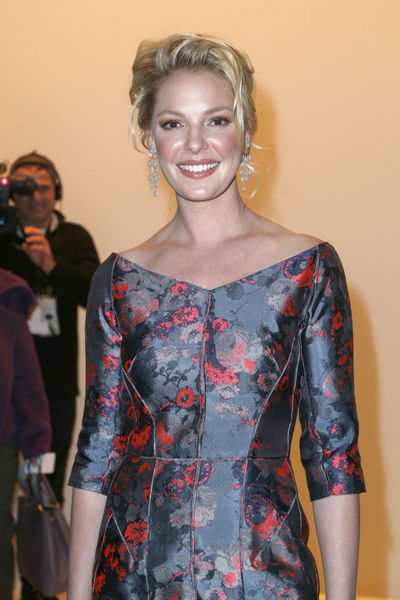 <p>Katherine Heigl at the J. Mendel show at Lincoln Center, Wednesday, February 13, 2013.</p>