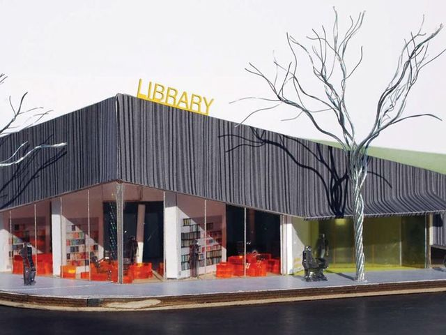 <p>When the library reopens in 2015, it will feature a new entry and an energy-saving green roof.</p>