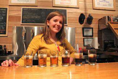 Beer info sessions at SingleCut Beersmiths, exclusively for women, teach the ins and outs of a good brew.