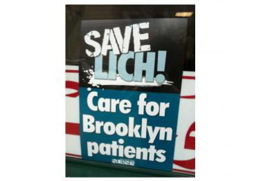 A public hearing for the fate of LICH at SUNY College of Optometrics.
