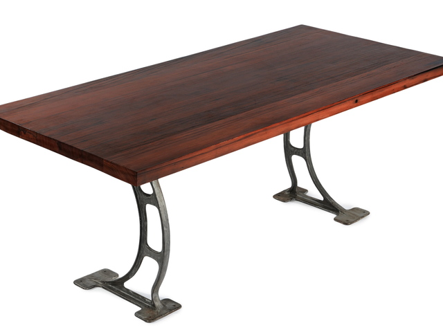 <p>Townhouse dining table by Mark Jupiter.</p>