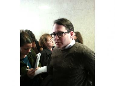 Matthew Broderick joined more than 100 opponents of NYU's expansion who argue that the city acted illegally.